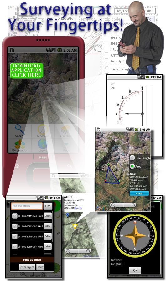 Surveying at Your Fingertips